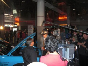 Jeff Moran & Richard Petty at SEMA 2009