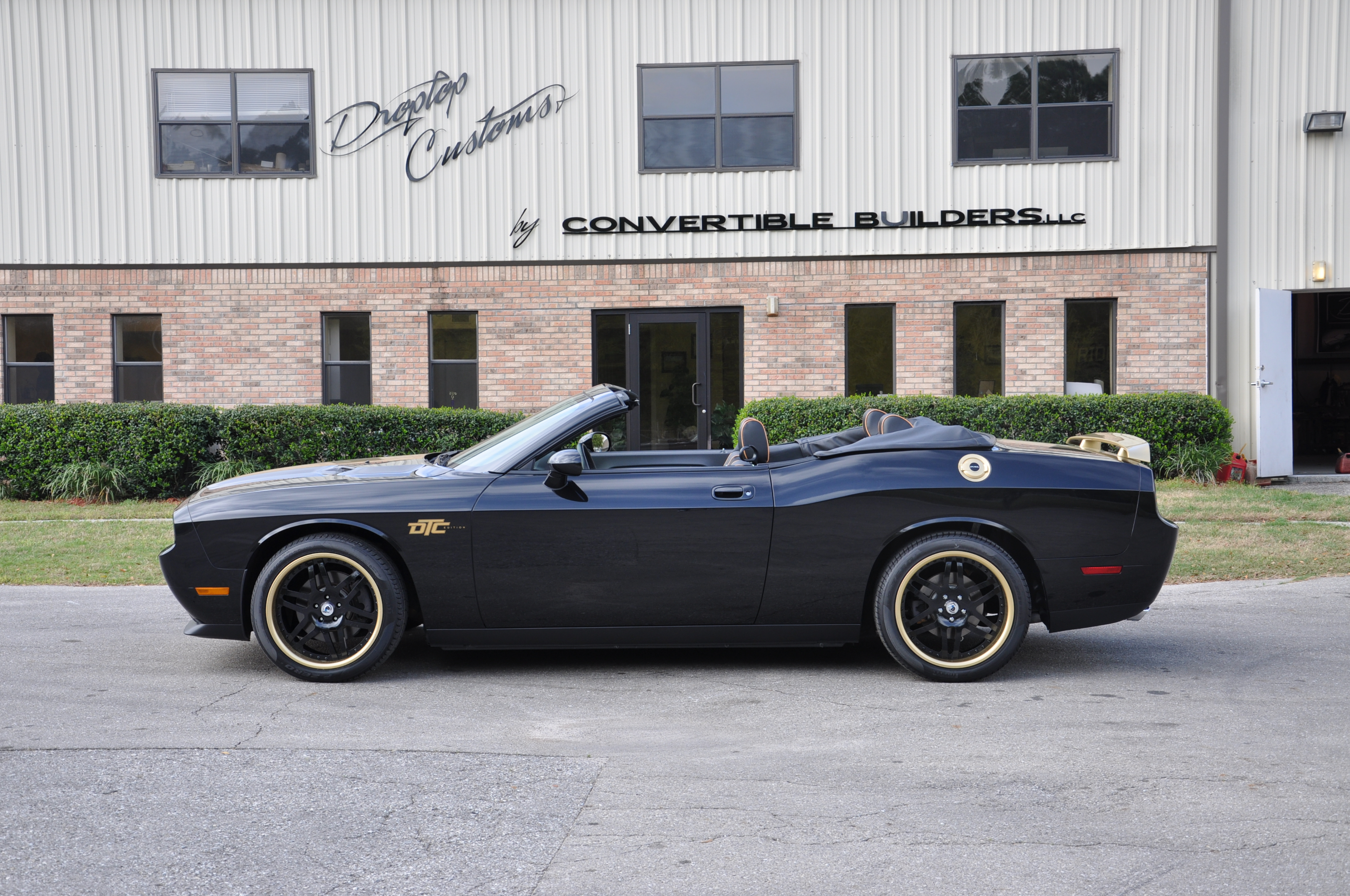 Black and Gold Challenger 5