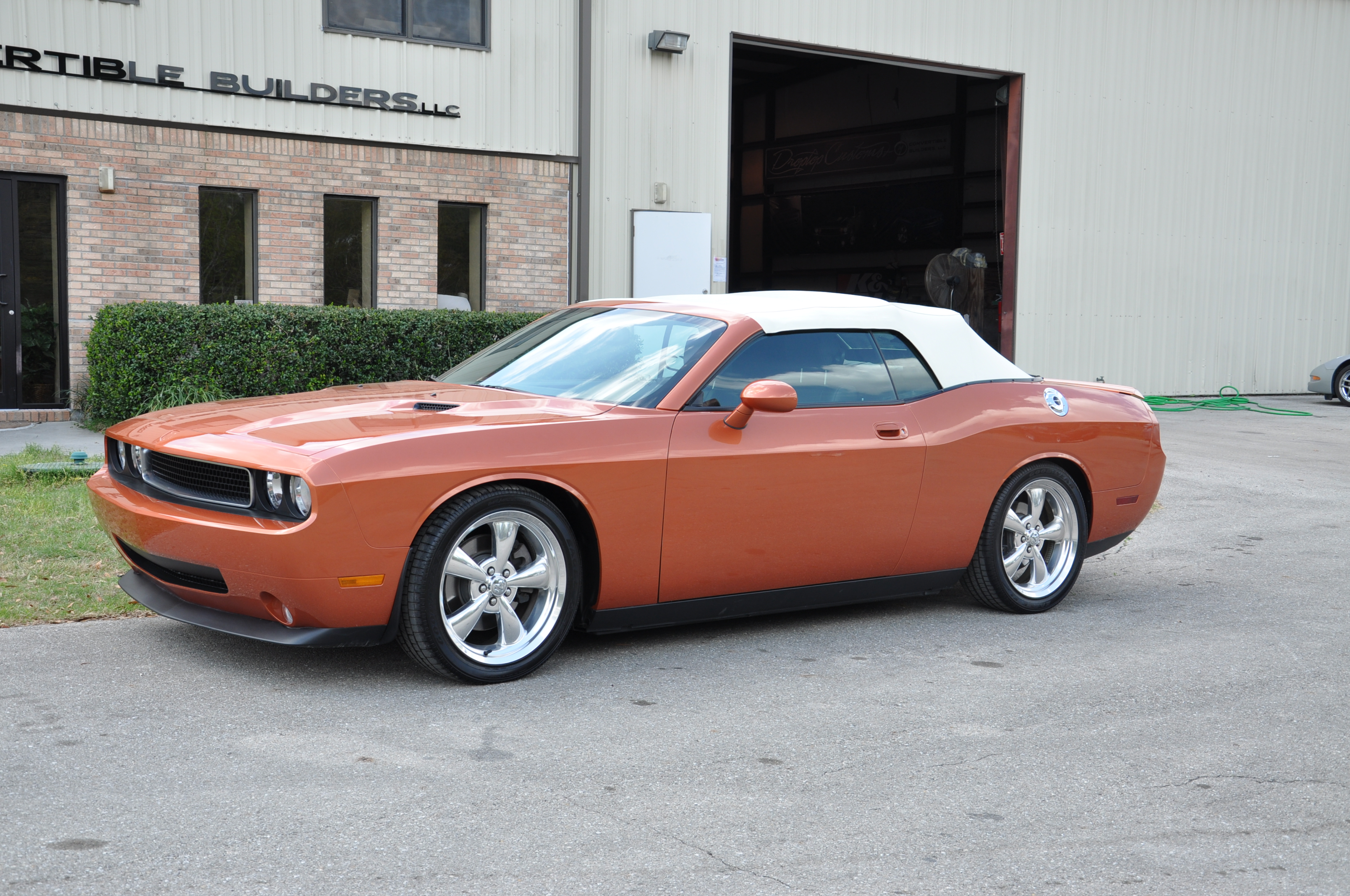 Burnt Orange Challenger 3