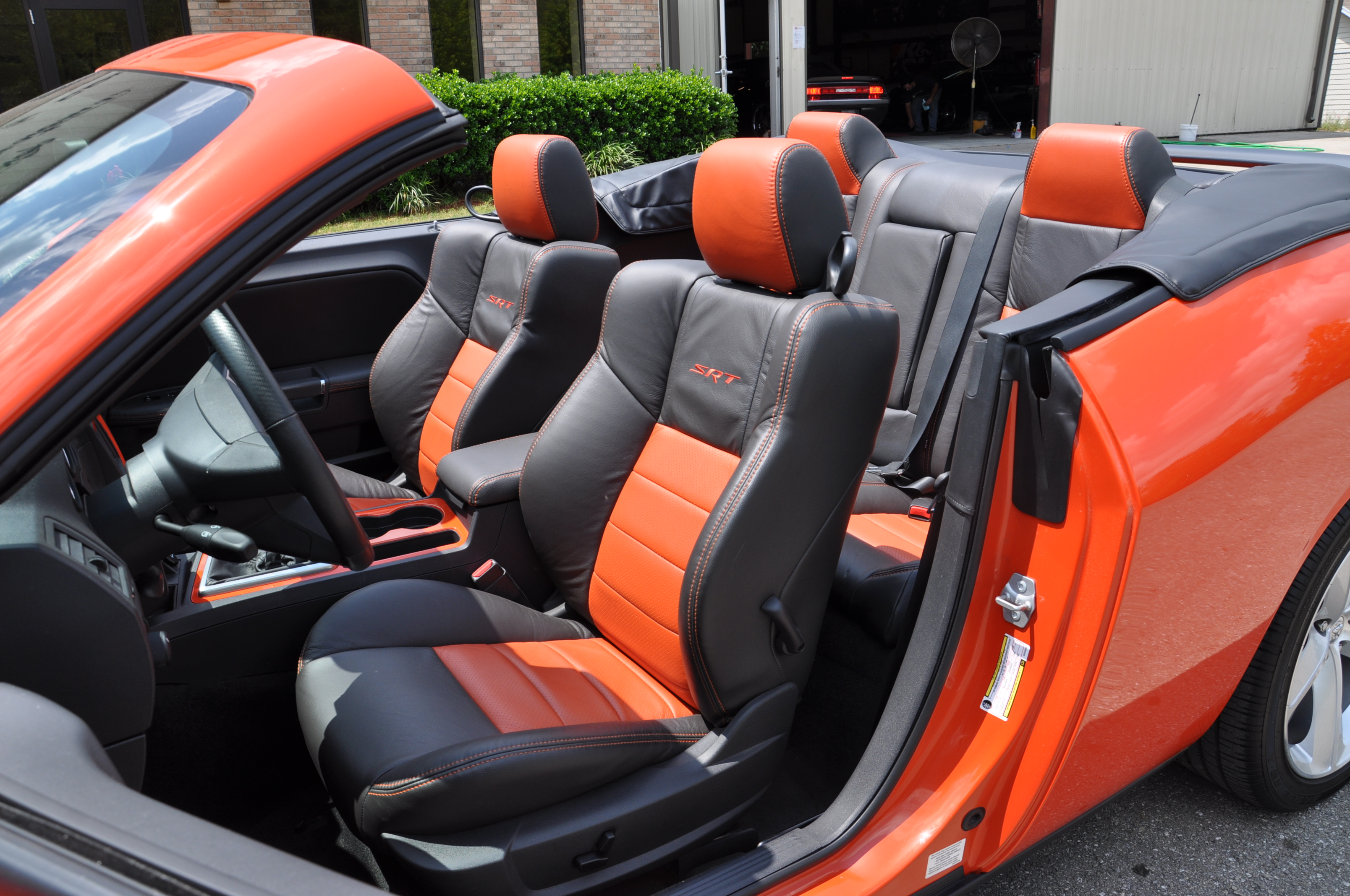 Dodge Challenger Convertible Interior