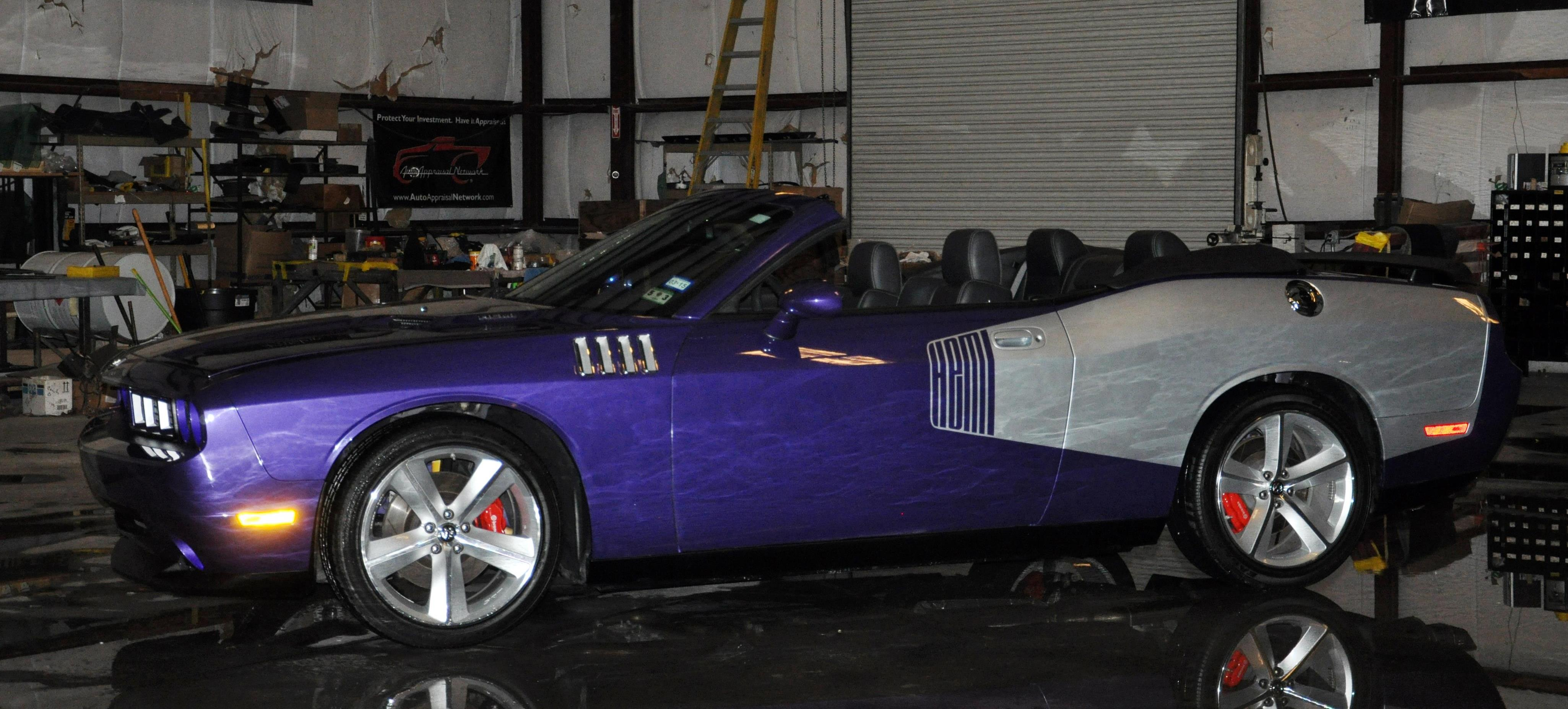 Challenger Plum and Silver Top Down (2)