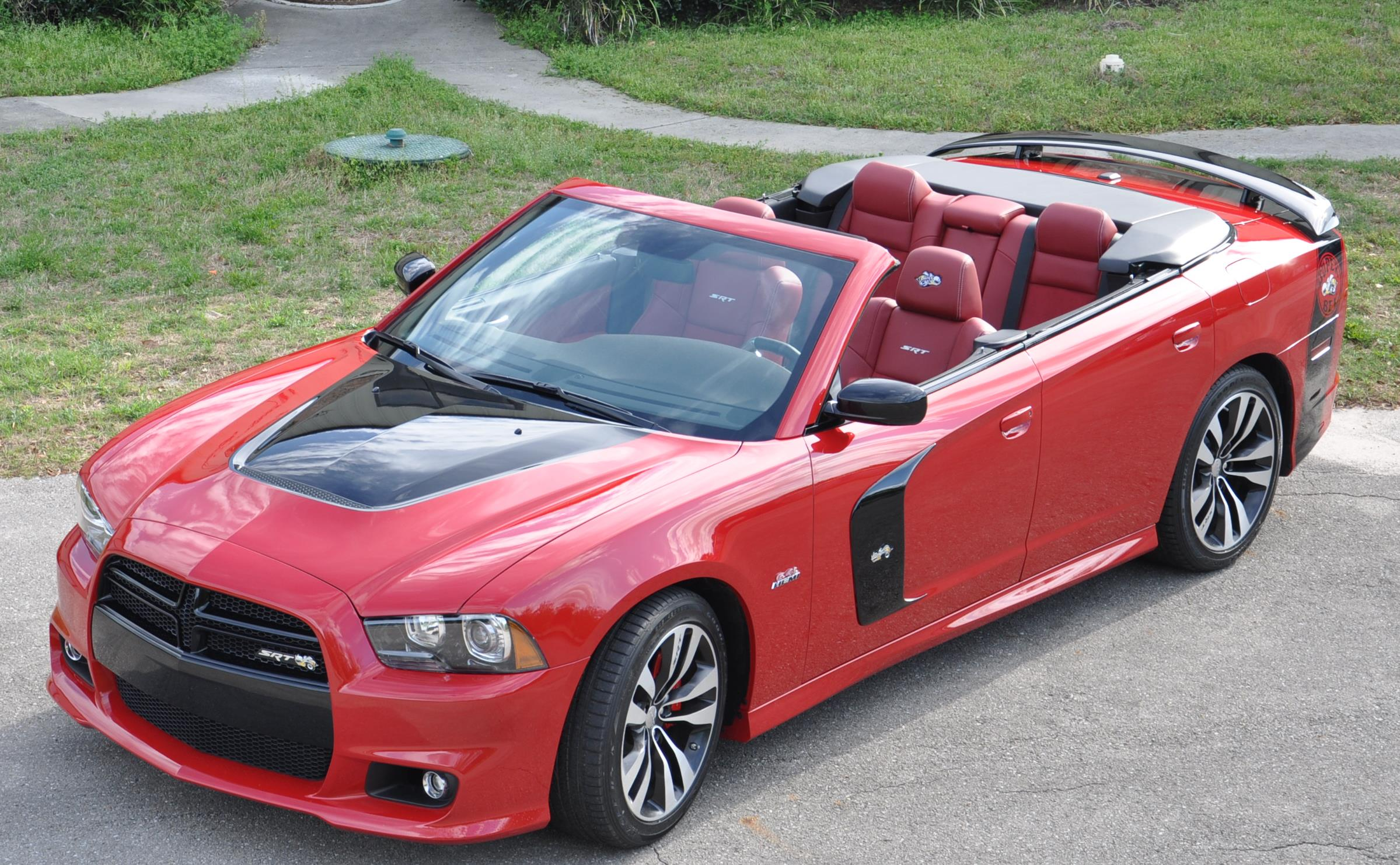 DTC Dodge Charger Convertible SuperBee Top down