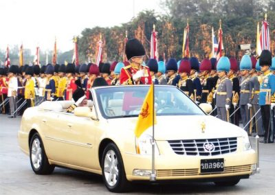 King of Thailand, Cadillac DTS Convertible
