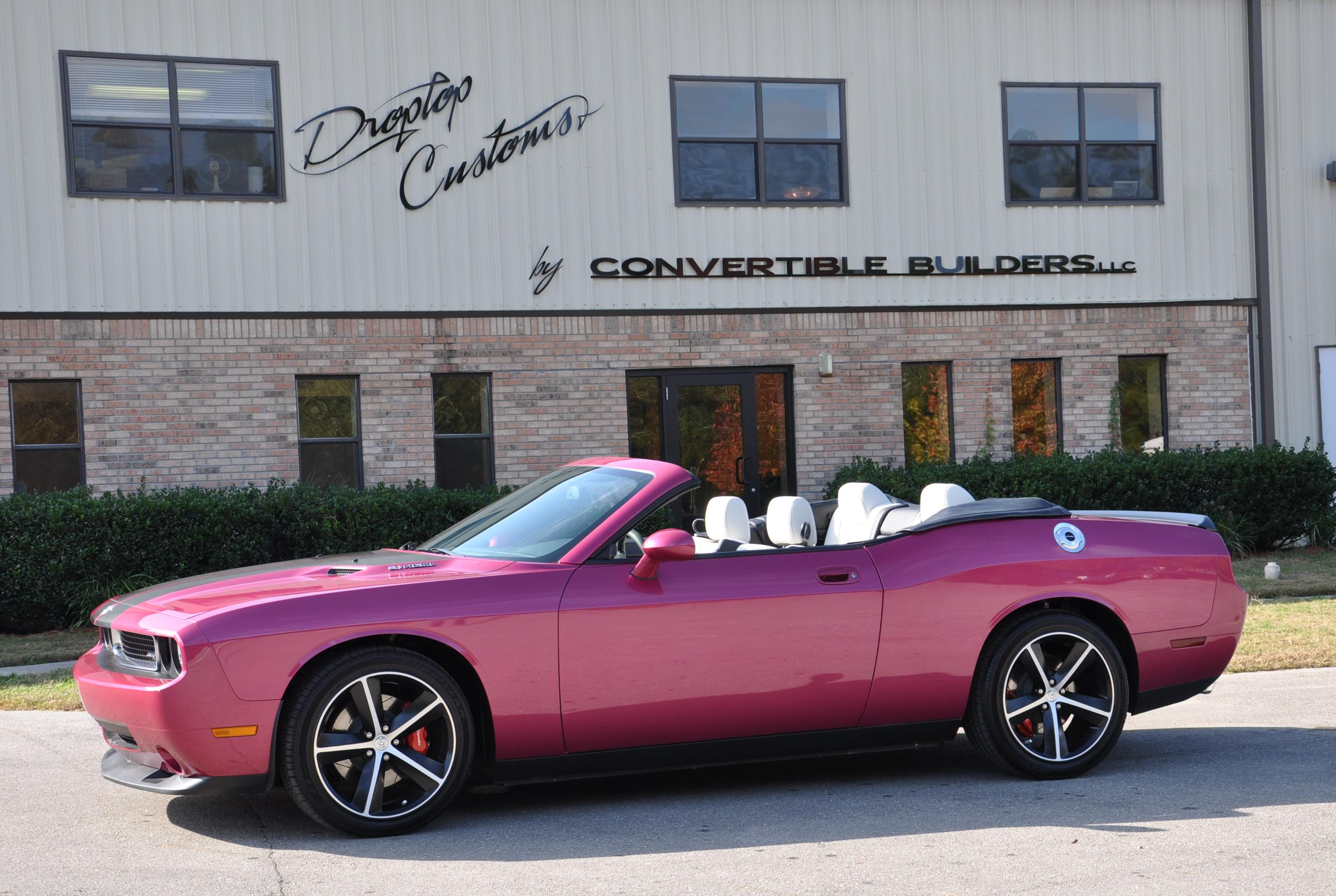 Plum Crazy Dodge Challenger Convertible