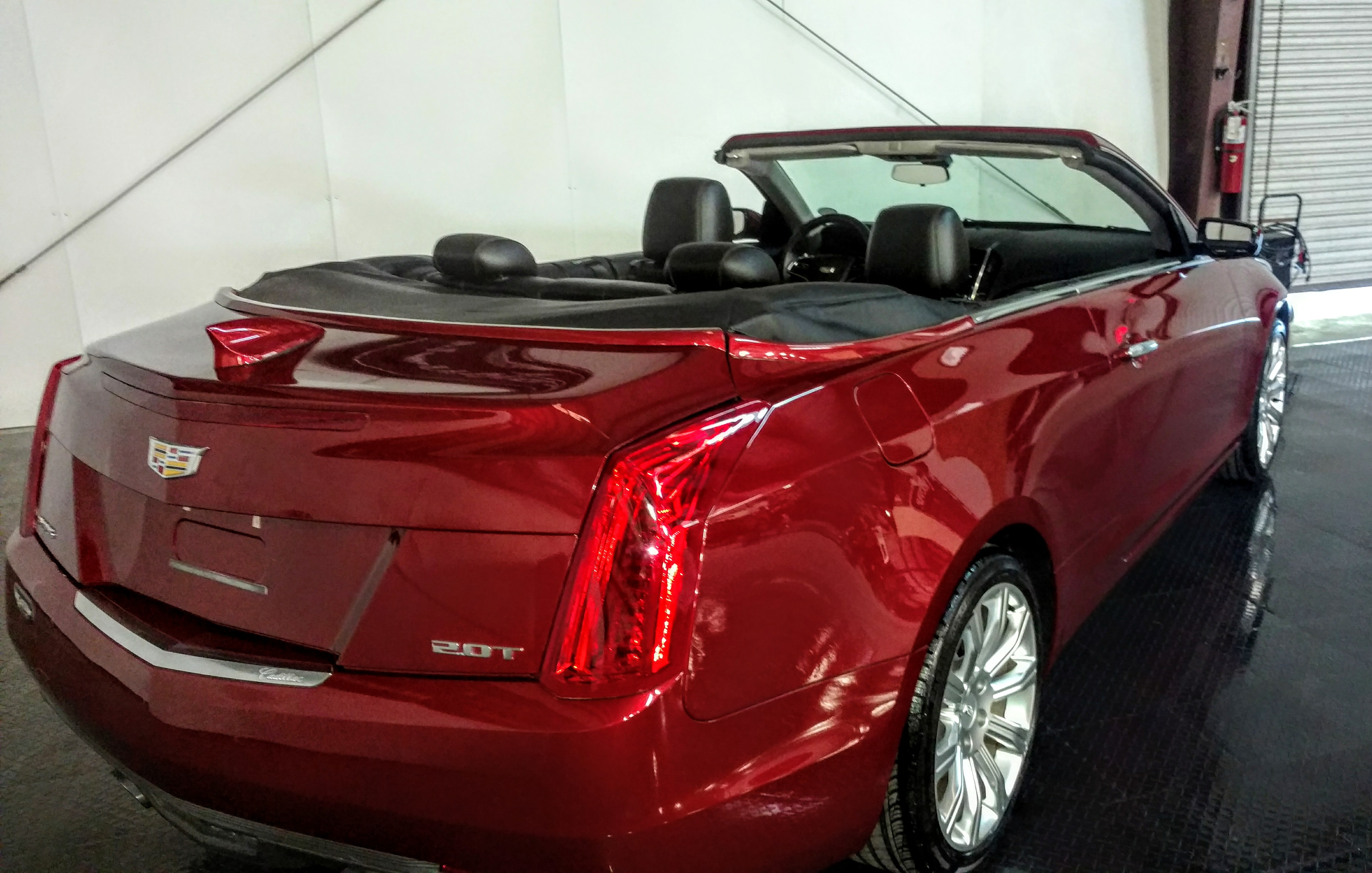 Cadillac ATS Convertible Right Rear