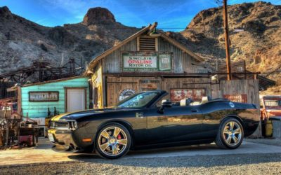 Hurst Horsepower rumbles through El Dorado Canyon, Topless!
